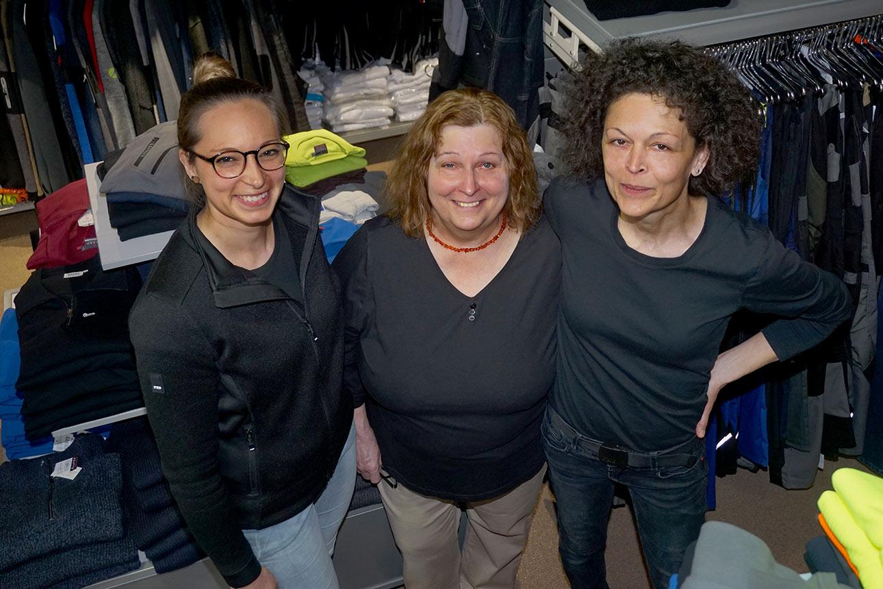 Team von Wolfinger Berufskleidung